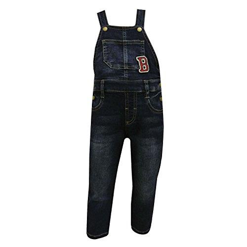 Mayoral - Jungen Latzhose Jeans, blau, Größe 80