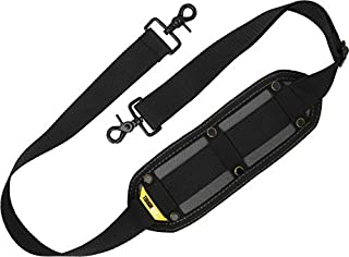ToughBuilt - Shoulder Tool Bag Strap - Clip on Shoulder Strap Rugged construction, Non-slip surface, distributes pressure of heavy loads, Compatible with all ToughBuilt bags and totes (TB-55-B) NEW