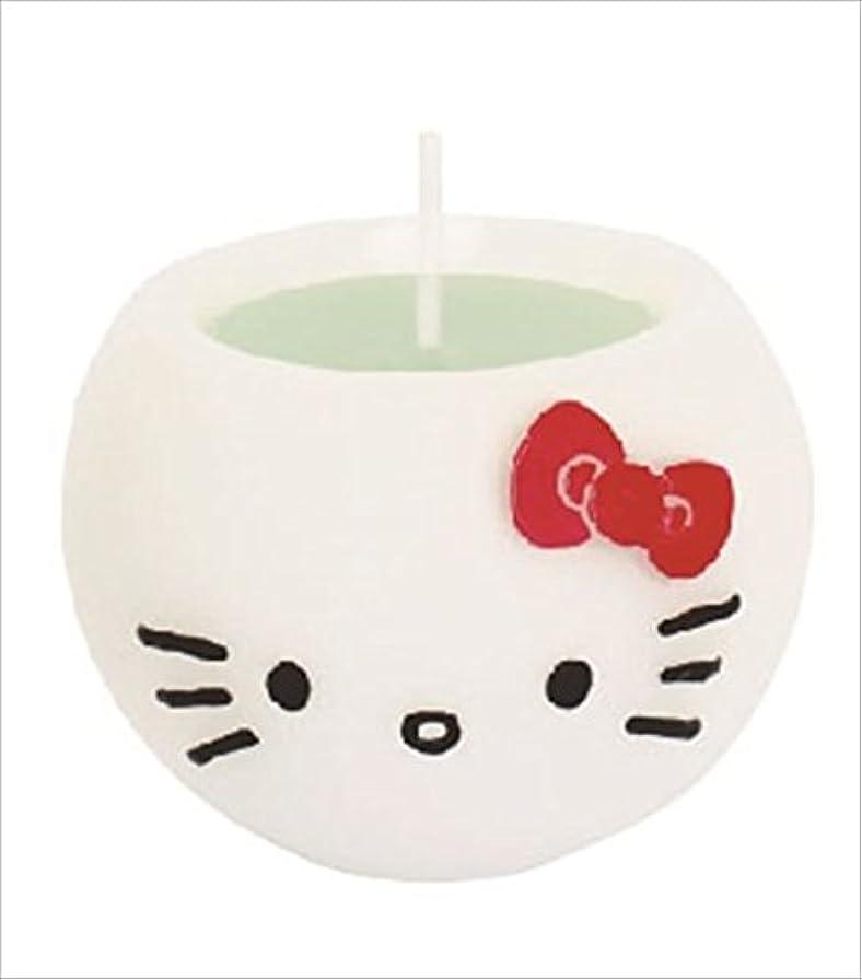 また支援メロドラマティックkameyama candle(カメヤマキャンドル) ハローキティアロマキャンドル 「 アップル 」 キャンドル 58x58x45mm (A6980530)
