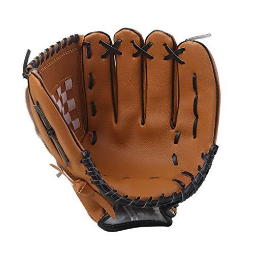 CPAZT Baseball s mit weichen festen PVC-Leder Eindickung Pitcher Softball s for Kind/Jugendliche/Erwachsene Professionelle Baseball Mitt for Catching - Left Hand Wurf YCLIN