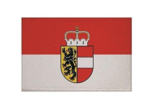 U24 Aufnäher Salzburg Fahne Flagge Aufbügler Patch 9 x 6 cm