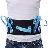 Healifty Gait Cinturón de transferencia de seguridad médica cinturones de seguridad para ancianos para levantar y transferir fisioterapia cinturón correas y ancianos cuidado ascensores 1 pieza