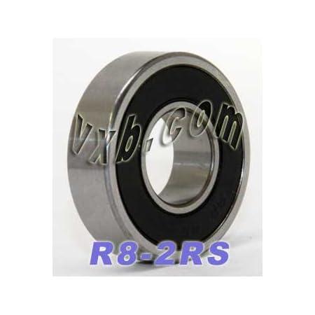"""R18-2RS C3 Sealed Premium Ball Bearing 1 1//8/"""" x2 1//8/"""" x1//2/"""""""