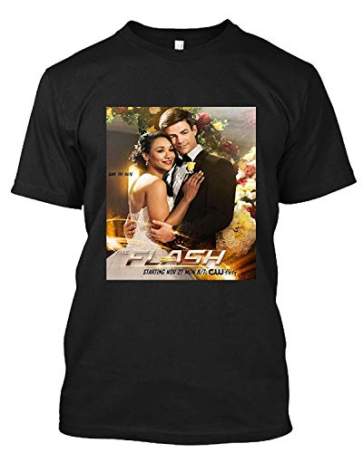 Tshirt for Men, Wonmen #The #Flash #Candice #Patton #& Grant Gustin from Thighs Up As Bride & Groom Ti