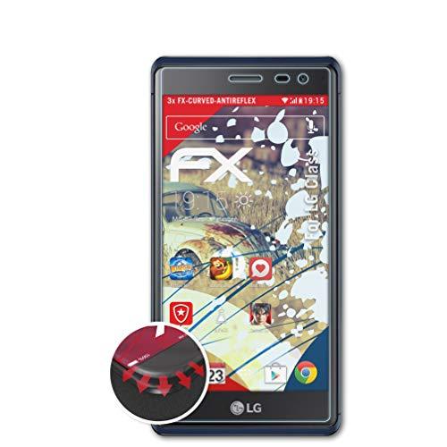 atFolix Schutzfolie kompatibel mit LG Class/Zero Folie, entspiegelnde & Flexible FX Bildschirmschutzfolie (3X)