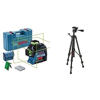 Bosch Professional GLL 3-80 G Livella Laser Raggio d'Azione: Fino a 30 m, 4 Pile AA, in Valigetta, 1.5 V, Treppiede da Perito, 55-157 cm, 1.5 kg, Verde (B0882BZM7H) | Amazon price tracker / tracking, Amazon price history charts, Amazon price watches, Amazon price drop alerts