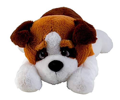 Lifestyle & More Perro de Peluche Gigante Oso de Peluche XXL 80 cm de Largo Peluche Aterciopelado Suave - to Love