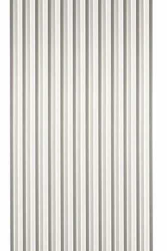 Streifenvorhang grau-weiß 200 x 90 cm