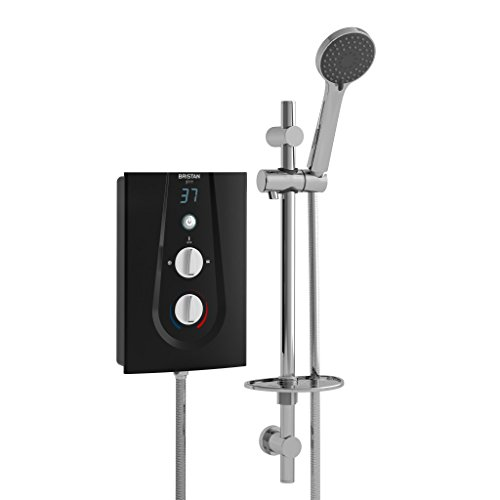 Bristan GLE395 B 9.5 kW Glee 3 Electric Shower - Black