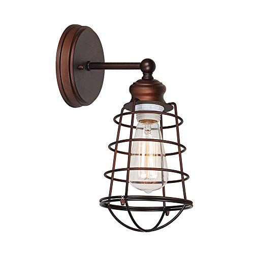 Design House 519710 Ajax 1 Light Wall Light, Bronze
