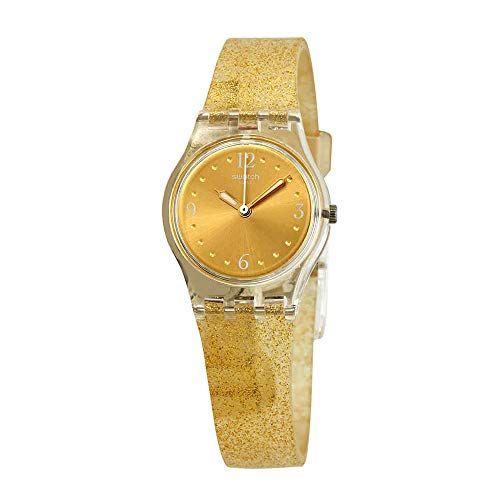Swatch Golden Glistar Too - LK382 transparente talla única