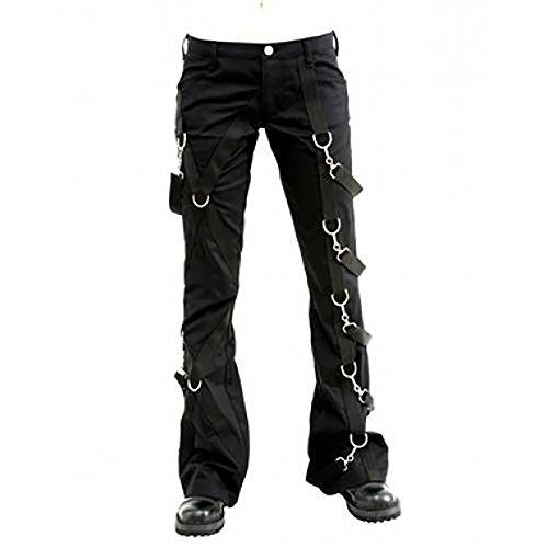 Aderlass Cross Pants Denim Black (Größe 36)
