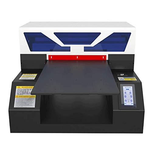 Stampante UV LED flatbed, A4, per carta d'identità, cover di cellulare, stampa su vetro e metallo (con supporto per inchiostro)