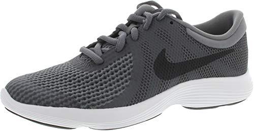 Nike Nike Herren Revolution 4 (GS) Laufschuhe, Mehrfarbig (Dark Grey/Black/Cool Grey/White 001), 38.5 EU