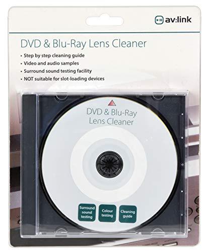 Limpiador de Lente para CD/DVD/BLU-Ray/PC y videoconsolas