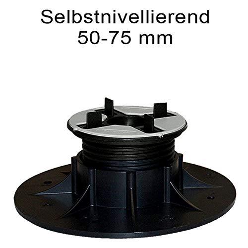 Stelzlager selbstnivellierend 50-75 mm höhenverstellb. 1 Stück Art. 12530