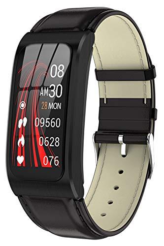 Fitnessuhr Fitness Armband Schrittzähler Pulsuhr Sportuhr Damen Herren Android Smartwatch IOS Tracker Pulsuhren Pulsmesser Watch Uhr mit Blutdruckmessung IP68 Wasserdicht