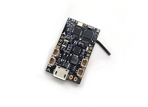 Usmile 32bit Brushed F3 EVO Flight Control Board with Built-in SBUS 8CH Frsky Compatible Receiver for Mini Micro Nano quad fpv racing