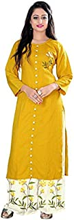 Applix Style Kurti with Palazzo Set for Women's