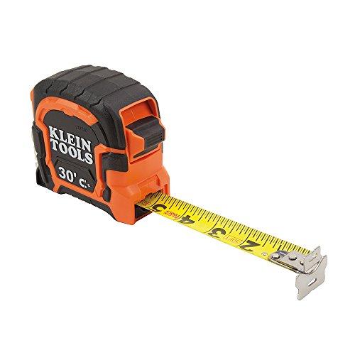 Klein Tools Tape Measure 30-Foot Magnetic Double-Hook (86230)