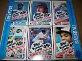 1982 Topps Baseball Card Un-opened Cello Pack with...