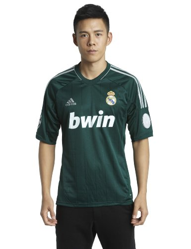 adidas Herren Trikot Real Madrid 3rd, grün/weiß, XL, X53540