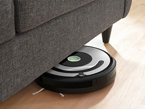 iRobot Roomba 615 Robot aspirapolvere, Adatto a tappeti e Pavimenti, Tecnologia Dirt Detect, Sistema di Pulizia a 3 Fasi, Maniglia Integrata