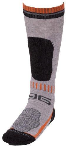 Gatta Warme Snowboard Socken Wintersocken Funktionssocken (Grau, S)