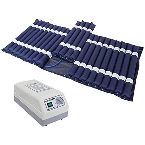 WLKQ Colchón antiescaras de Aire - colchones de Aire, Kit Antiescaras - Colchón Inflable - compresor eléctrico - bajo Ruido, bajo Consumo de energía 200 cm * 90 cm