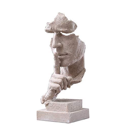 DECORACION FHW Minimalista Moderno Escultura Abstracta Artesanía Salón Vinoteca Habitación Habitación Oficina (Color : 12#)