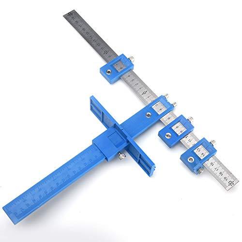 Locator Set Alignment Accurate Carpentry Professional Gu/ía r/ápida Herramienta Dowel Jig Joint Woodworking Drill Bit /Útil Bujes Punch