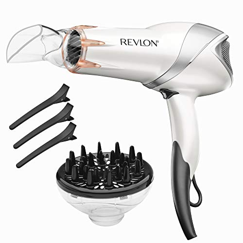 REVLON 1875W Infrared Heat Hair Dryer for Fast ...