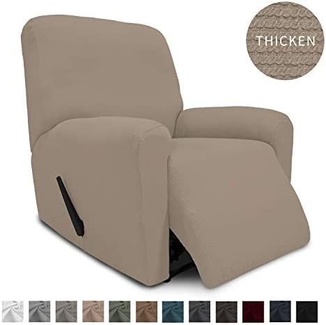 Best Easy-Going Thickened Recliner Stretch Slipcover, Sofa Cover, Furniture Protector with Elastic Bottom