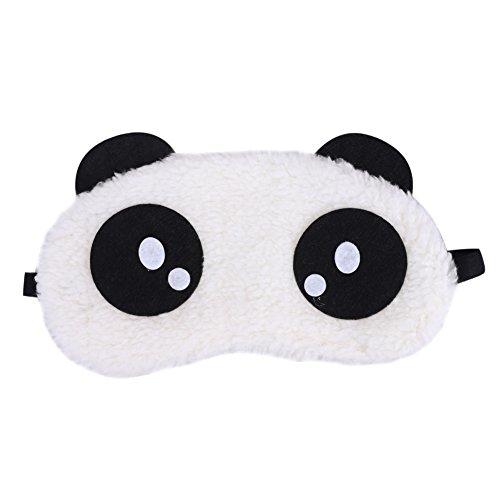 Ibluelover - Antifaz para dormir con diseo de panda, mscara de algodn extra suave, ideal para viajes, antifaz para dormir y antifatiga con banda para la cabeza, regalo ideal de Navidad