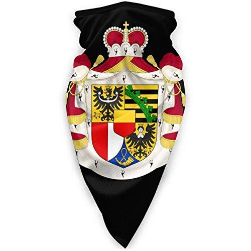 li Nationales Emblem der liechtensteinischen Halsmanschette Wärmer Winddichte Gesichtsabdeckung Schal Outdoor Sports Abdeckung