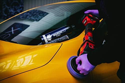 Nanolex Medium Cut Politur 250 Ml Premium Schleifpolitur Schleifpaste Für Alle Autolacke Entfernt Effektiv Mitteltiefe Kratzer Und Schleifspuren Bis Zu Einer 3000er Körnung Silikonfrei Auto