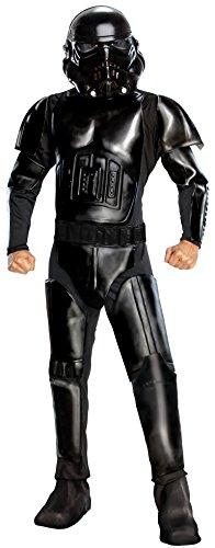 Rubies- Star Wars Shadow Trooper Disfraz Adulto, Color negro, Estndar (M) (RUBBIES FRANCE ST-889821STD)