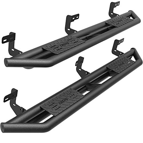oEdRo 6' Running Boards Compatible with 2009-2018 Ram 1500 2019-2022 Ram 1500 Classic Quad Cab, Upgraded Side Steps Textured Black Heavy Duty Truck Nerf Bars, Unique Multi-Layer Slip-Proof