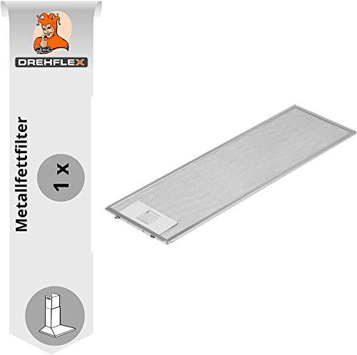 DREHFLEX - AK101-1x Metallfettfilter für Dunstabzugshaube 507x158mm für AEG Electrolux Teile-Nr. 4055344149 50268370009