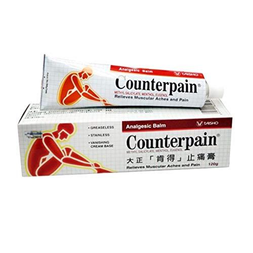 Counterpain Analgesic Hot Cream 120g.