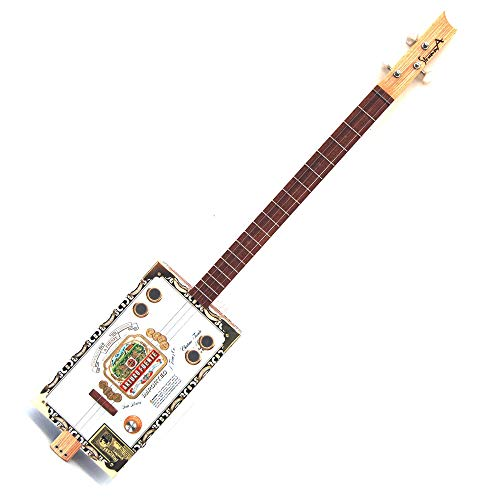 StrummA Artist Cigar Box Gitarre Arturo Box 3 Saiten elektroakustisch mit Lautstärke