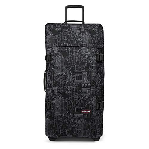 EASTPAK Tranverz L Suitcase, 79 cm, 121 L, Master Black (Black)