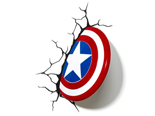Marvel Avengers Captain America 3D Light