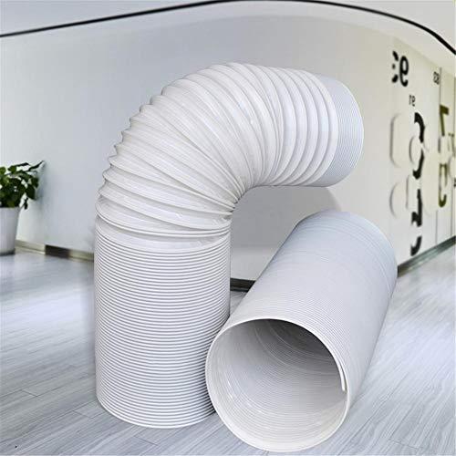 Manguera de Escape portátil Manguera de Aire Acondicionado Universal Tubo de CA Flexible Kit de extensión de ducto de PVC (diámetro: 13 CM / 15 CM)