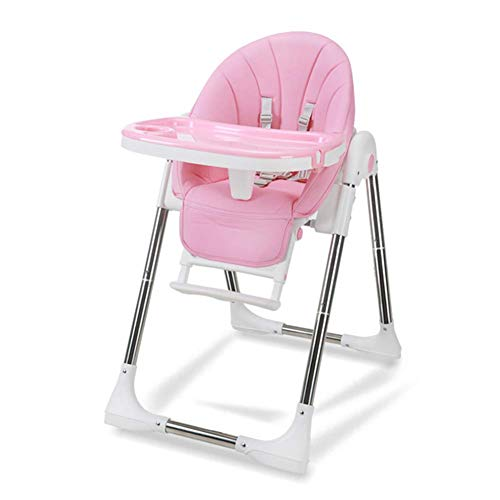 WWWWW-DENG barkruk, voor babystoelen, multifunctioneel, inklapbaar, draagbaar, veiligheidsgordel (kleur: blauw, maat: groot)