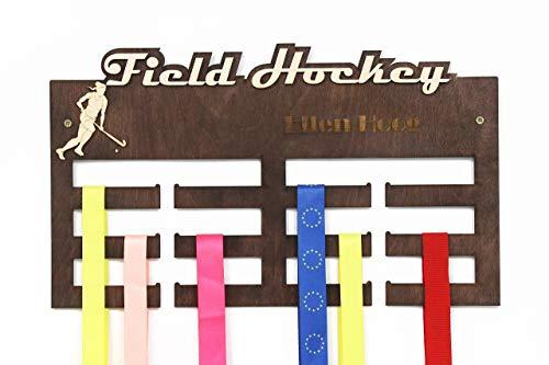 All sports Medal Display, Field Hockey Medal Hanger, Field Hockey, Hockey Gifts, Hockey, Medal Display, Medal Rack, Medal Holder, Hockey Decor, Hockey Wall Art