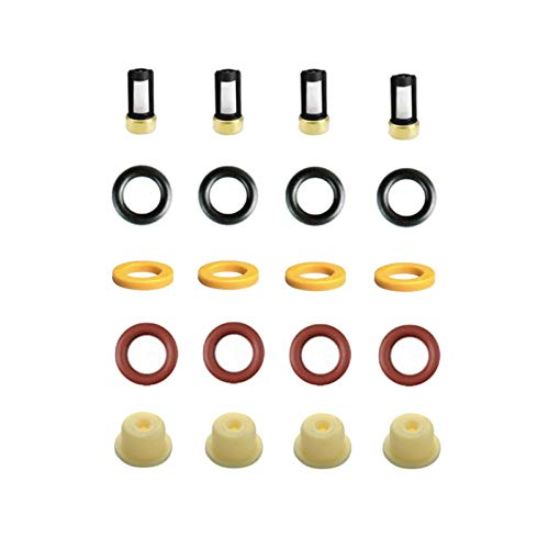 4pieces / set Kraftstoffeinspritzdüse-Reparaturset for B-W-M K100 Mo-tor-Zyklus OEM 0280150210 for AY-RK067