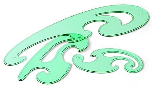 Fajeda- Juego 3 plantillas curvas con bolsa (241) , color/modelo surtido