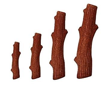 Petstages Bâton à mâcher pour chien Dogwood - sûr/naturel/sain/résistant - bois véritable