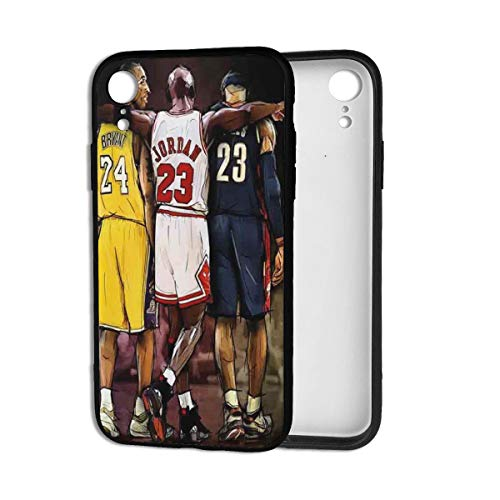 Forever Collectibles iPhone XR Case, Basketball Star Fashion Protective Shockproof Anti-Scratch Soft Bumper Case for iPhone XR